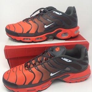 Men's Nike Air Max Plus TN Orange/Black